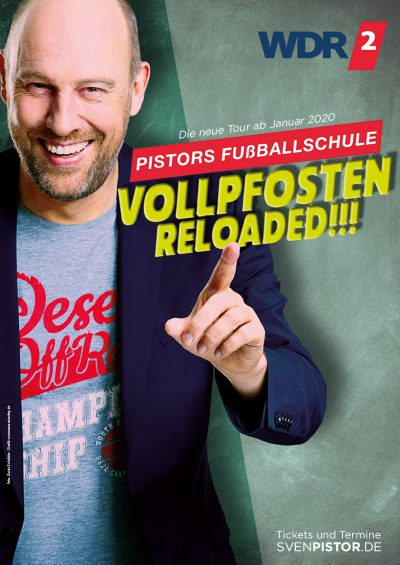 Tourplakat Sven Pistor Vollpfosten Reloaded 2020
